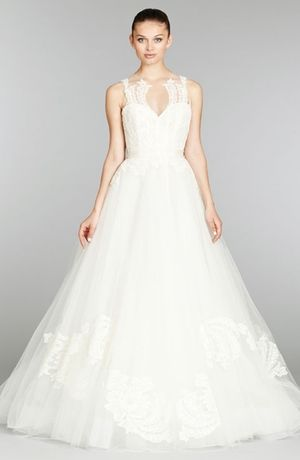 17 best images about lazaro gowns on pinterest yes to for Lazaro a line wedding dress
