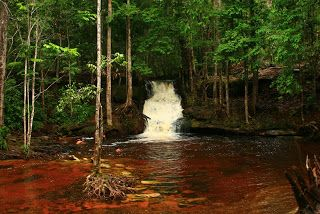 Asframa Falls - Presidente Figueiredo, Amazonas