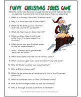Christmas Trivia Games - Printable Christmas Party Game