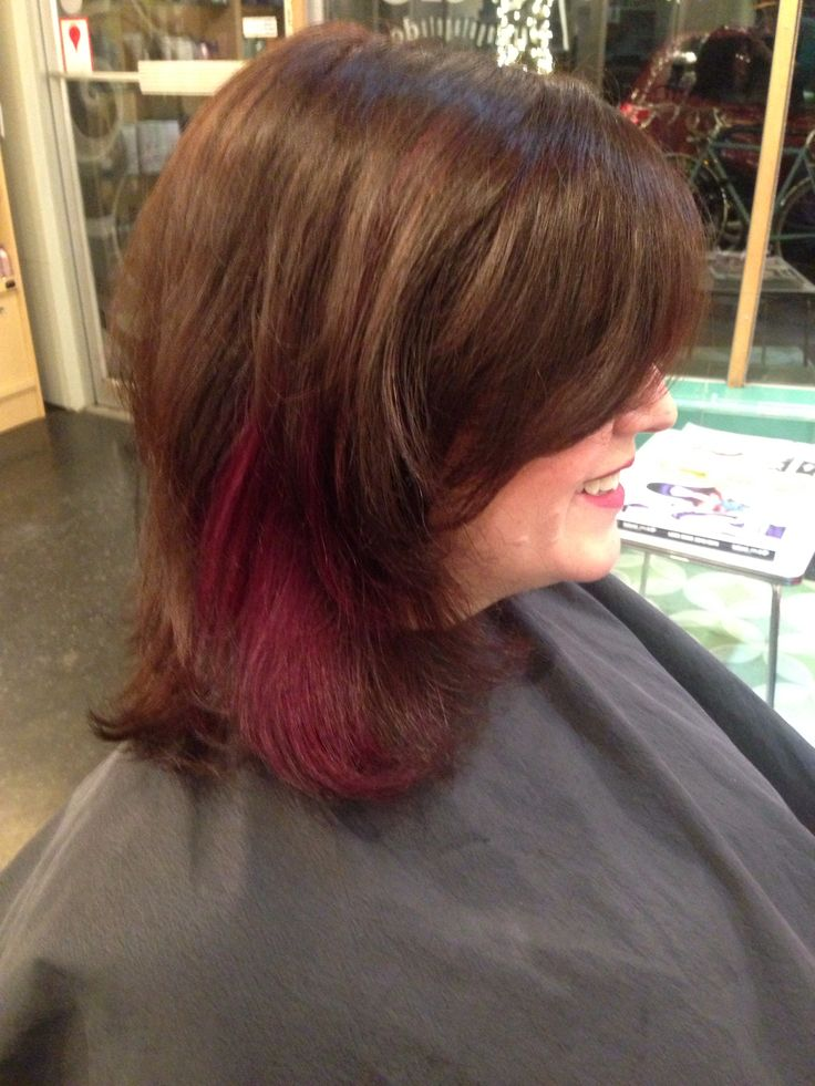 The 25 best plum highlights ideas on pinterest purple bold plum highlight peekaboo panel with rich chocolate brown haircolor brighten up your winter pmusecretfo Choice Image