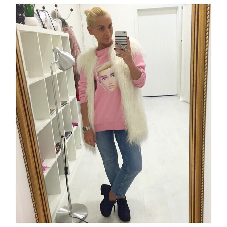 Приветик Красотки!!!👯я как всегда в прекрасном настроении🎉 и желаю вам отличного дня☝️и классного отдыха перед началом рабочей недели!!!👏👌🏻ну все, пошла работать😉👗🙌#шопингсопровождение #стильныелюди #стилистсургут #стильныелюди #fashion #style