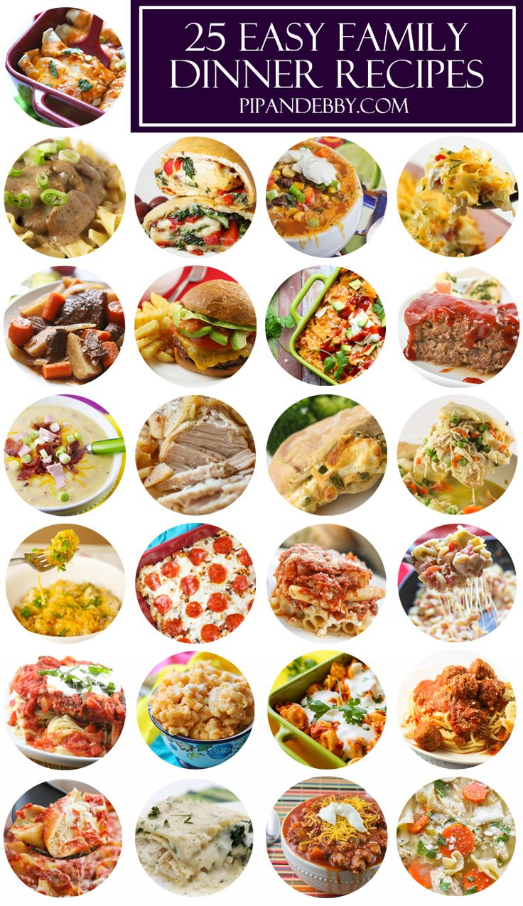Top 25 all time best family dinner recipes tops dinner Easy dinner recipes for family of 6