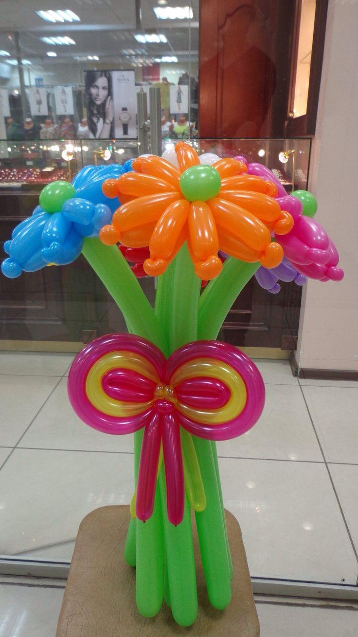 Crazy balloon animals -