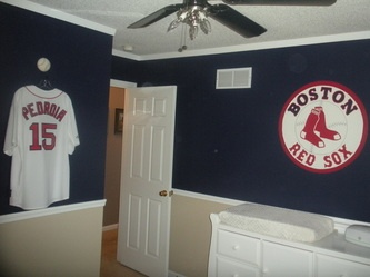 33 Best Images About Boston Red Sox Rooms Amp Wo Man Caves