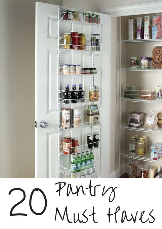 If you have a family and use your kitchen every day  then you know having a well stocked pantry makes mealtime a breeze  There are many essential items that every pantry needs  You never know when added guests will stop by or when you will need to make a dessert on the double  Follow along as eBay shares twenty pantry must haves to make your kitchen a bit more prepared  and have you ready for anything