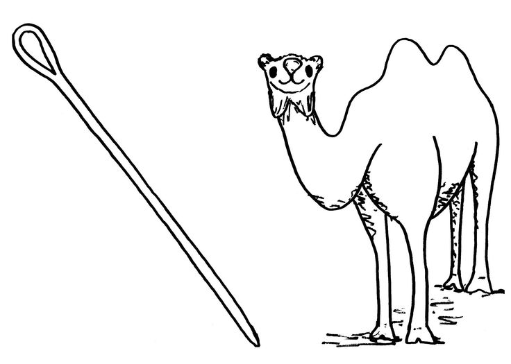 needle coloring pages