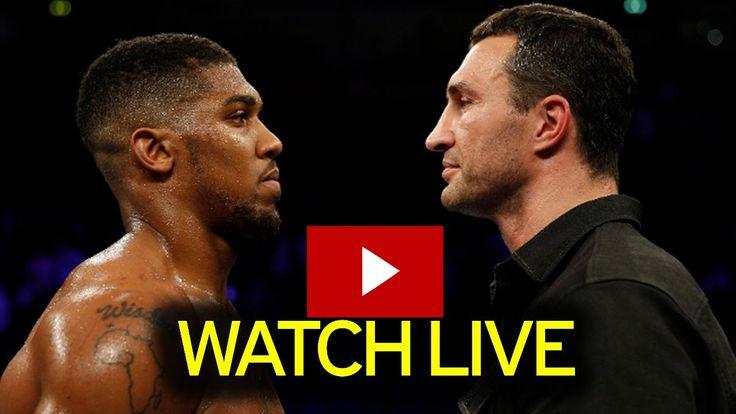 Watch Anthony Joshua vs Wladimir Klitschko Live Stream FREE : IBF On 29th April 2017