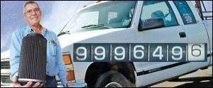 La camioneta de Carl Judice acumulo un millón de millas con solo un filtro K&N instalado
