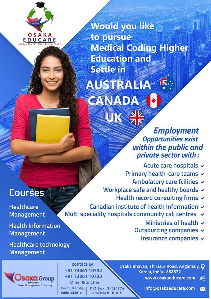 Pursue Medical Coding Higher Education And Settle In Australia