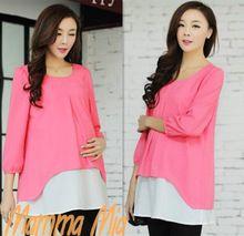 Yeni Geliş Plus Size Kadınlar için Annelik Elbiseler Güzel Kadın Elbise Üç Çeyrek Büyük Beden Günlük Elbise Yaz DIS0167 (Çin (Anakara))