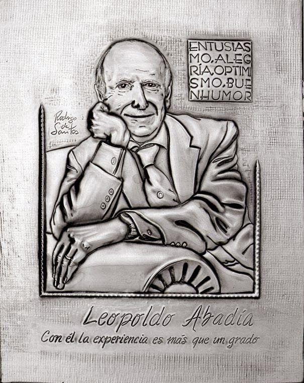 ArteyMetal: Retrato de Leopoldo Abadía