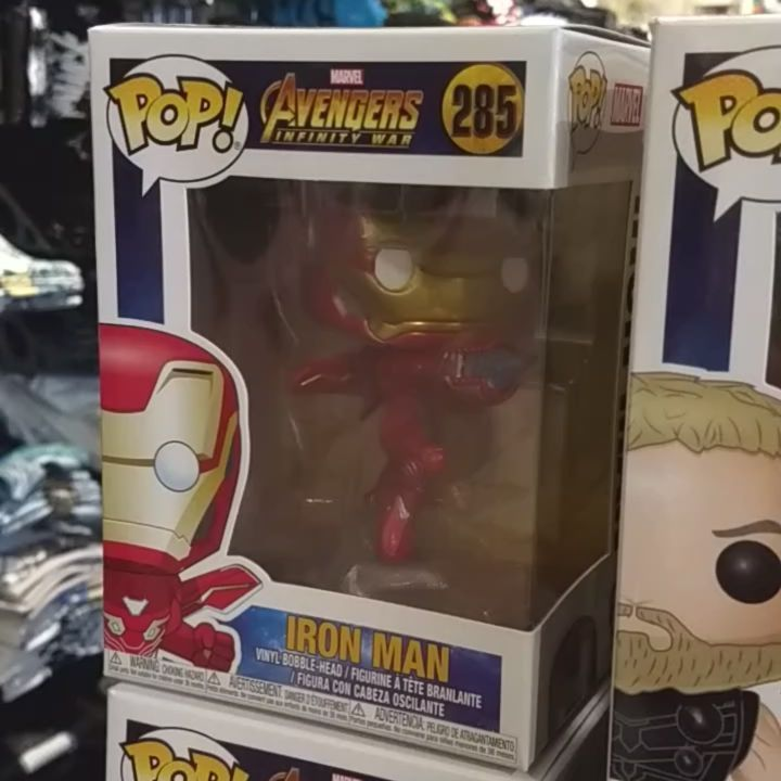 """""""Get this man a shield..."""" We're celebrating Infinity War coming out a week early by releasing these a day early!! #marvel #mcu #marvelcinematicuniverse #disney #funko #funkopop #ironman #thor #ironspider #spiderman #captainamerica #hulkbuster #thanos #corvusglaive #ebonyman #proximamidnight #groot #vision #hottopic #exclusive #hottopicexclusive #htexclusive #hollywood #losangeles #bobblehead #toycollector #toy #avengersinfinitywar #infinitywar #avengers"""