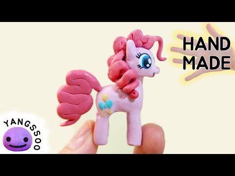 폴리머클레이로 핑키파이 만들기 Pinkie Pie Polymer Clay Tutorial - YouTube