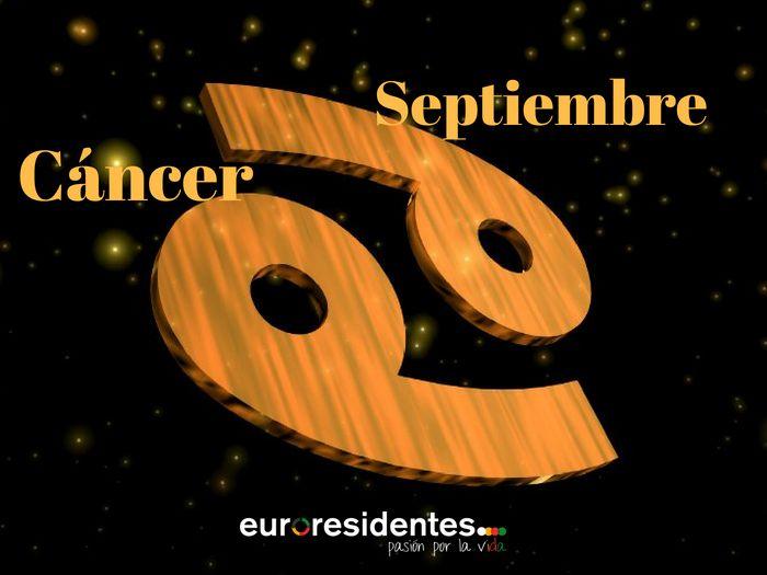 Horóscopo Cáncer Septiembre 2019 Horóscopo Mensual Horoscopo Cancer Horoscopo Y Tarot Horoscopo Mensual
