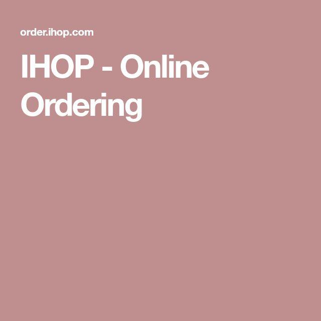 IHOP - Online Ordering