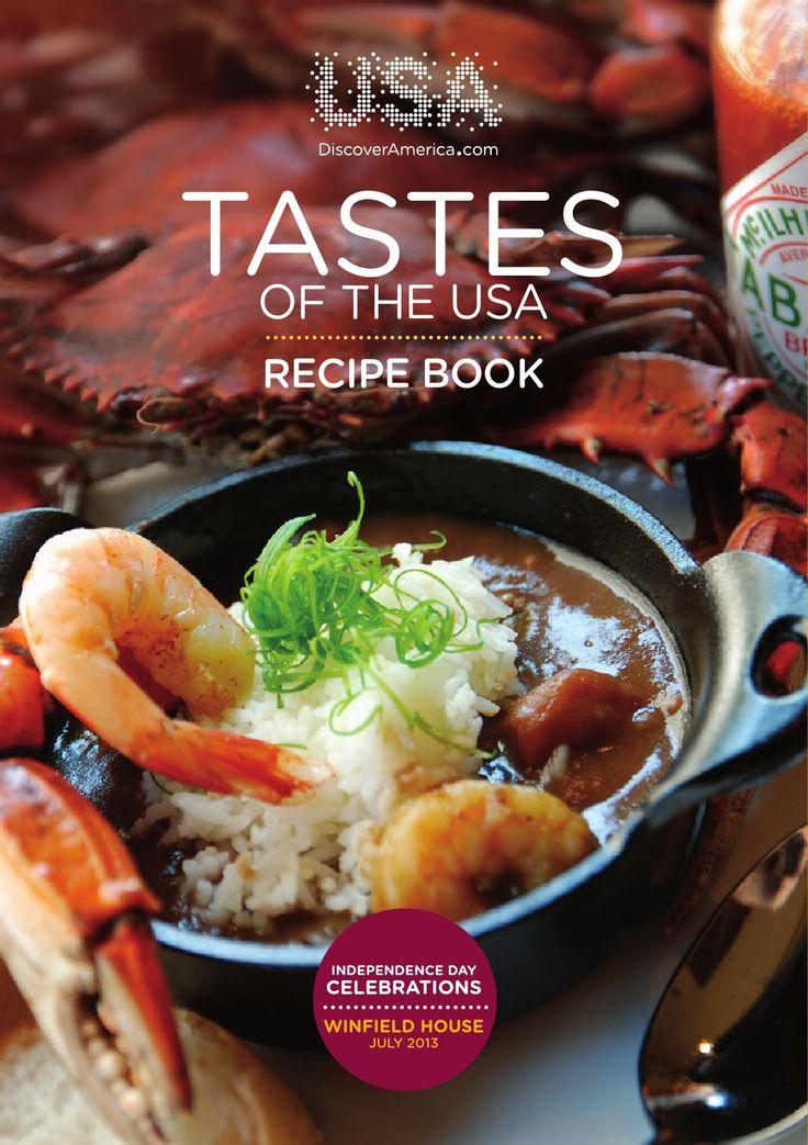 Taste of the USA  Recipe Book