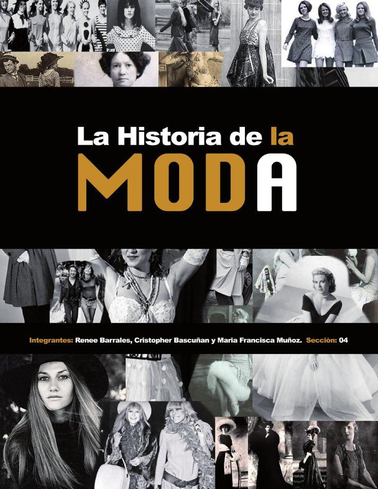 LA HISTORIA DE LA MODA  trabajo n4 taller 6