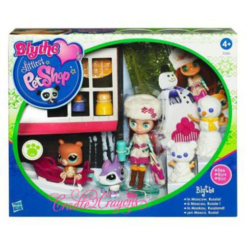 Littlest Pet Shop ❀ LPS ❀ RARE Blythe Moscow Set Lot 2109 2110 New | eBay