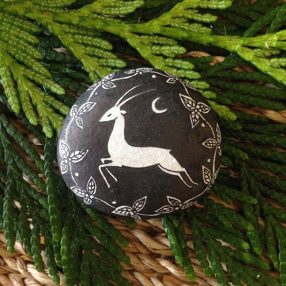 stone  dancer in the thicket by littlevagaries on Etsy