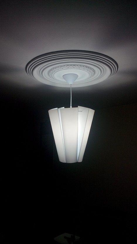 Lámpara en Poliestireno