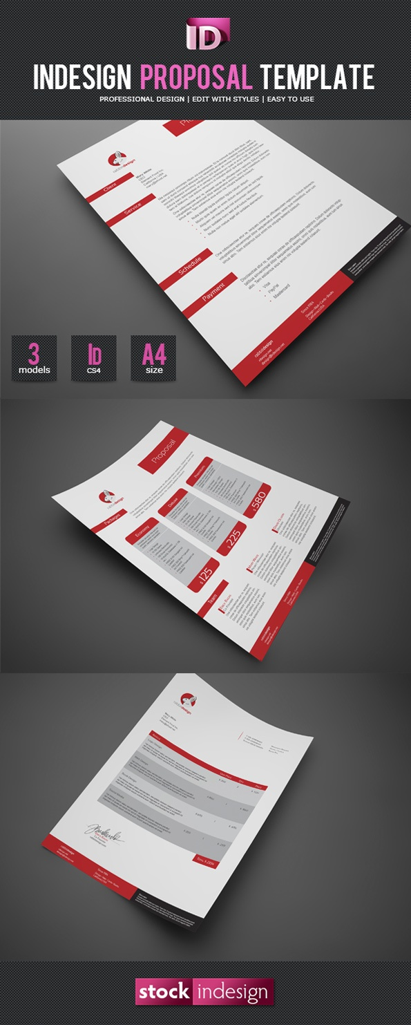InDesign Proposal Template: I