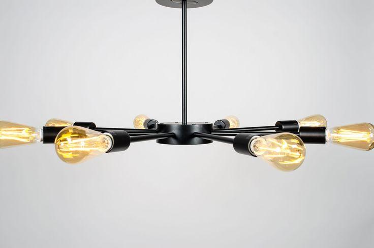 Romers 8-light chandelier
