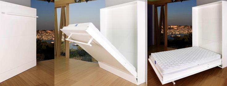 17 best images about lit gain de place on pinterest space saving promotion - Lit pour studio gain de place ...