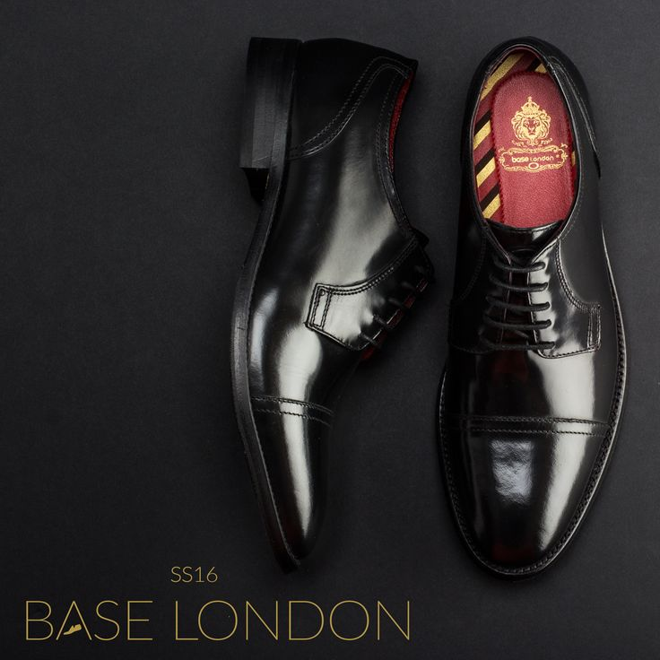 Buy Now: http://www.baselondon.com/oscar-hi-shine-black Base London. The Oscars Countdown. SS16. Mens Shoes. Mens Boots. Mens Style. Mens Fashion. Mens Formals. Black Brogues. Mens Black Formals. Mens Evening Wear.