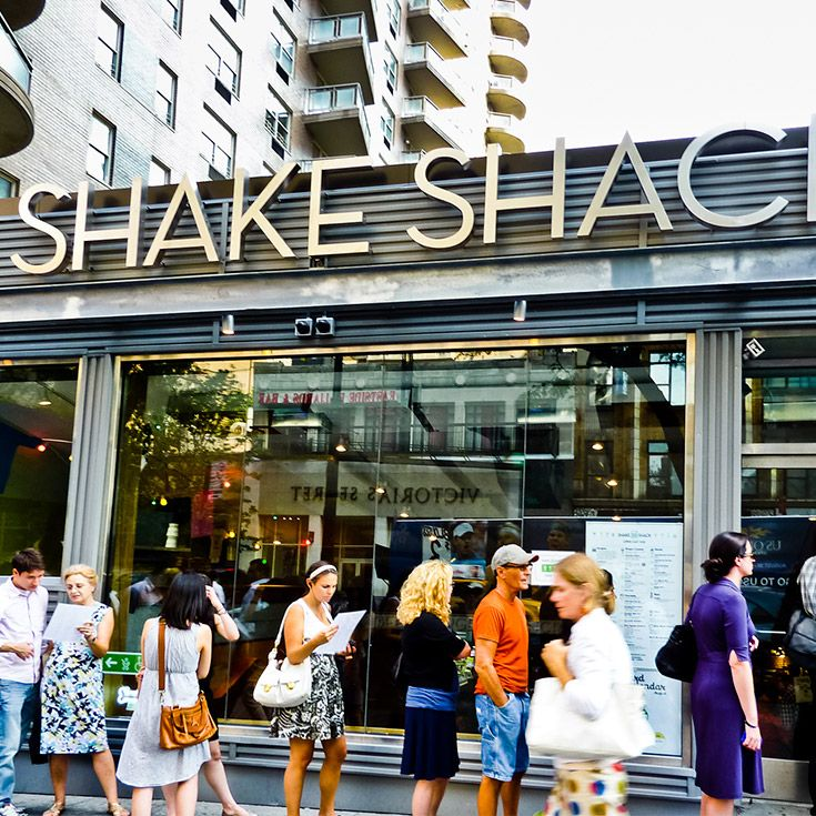 It's been a long time coming. Shake Shack has opened in Los Angeles, prime In-N-Out territory. Let the battle of the burgers commence.