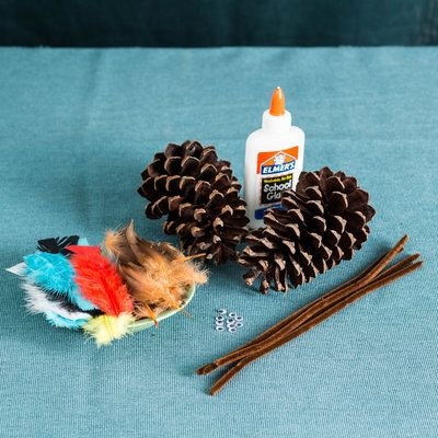 Pinecone Turkey Craft - Southern Living