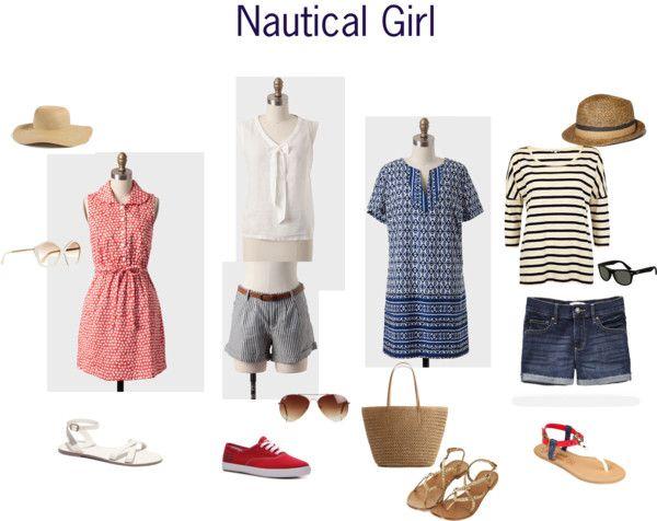 Senior Style – {Nautical Girl}