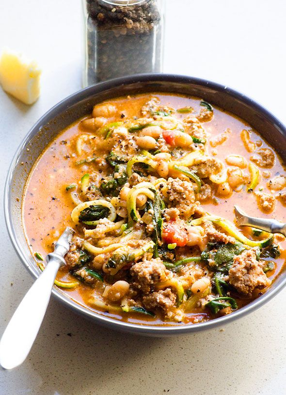 Stovetop Zucchini Noodles Lasagna is 30 minute clean eating light dinner with a taste of Italy without the guilt. Fast, gluten free & healthy comfort food recipe.   ifoodreal.com