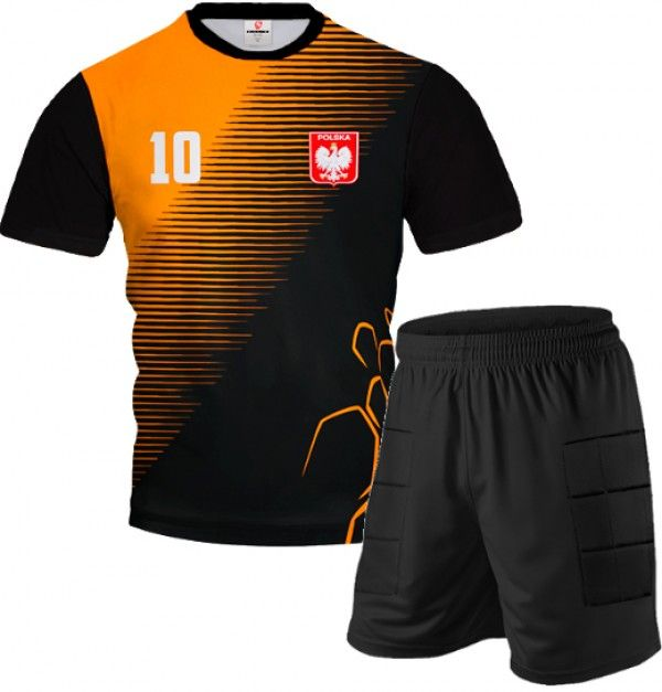 ARMOR Goalkeeper Short Sleeve Kit With Shorts With Custom Name Number And Logo Different Colors - Show All Products - Shop by...