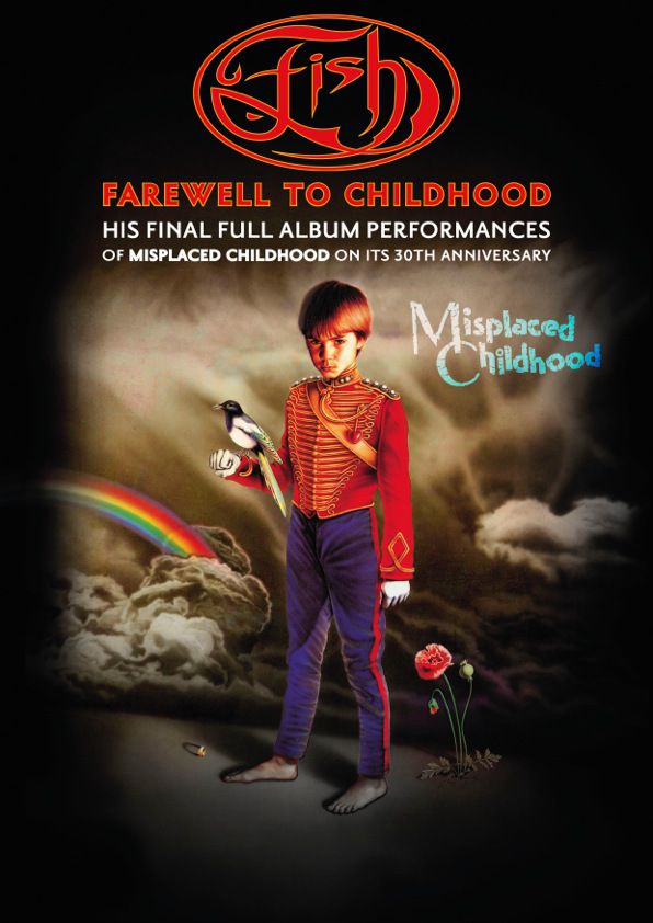 Farewell to Childhood A2 Poster 3, FISH, tour dates 2015 (Misplaced Childhood, Marillion years)