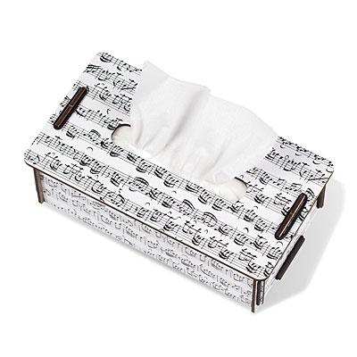 Caja Tissus en blanco