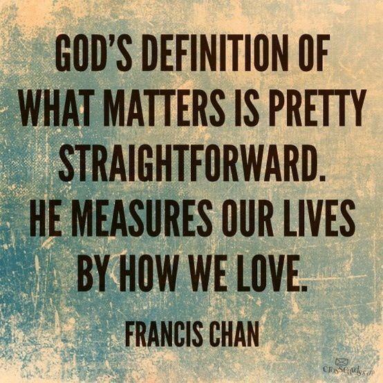 Francis Chan Quotes John 3 16. QuotesGram