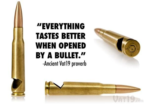 How to Make a Killer Bottle Opener from a .50 Caliber Bullet