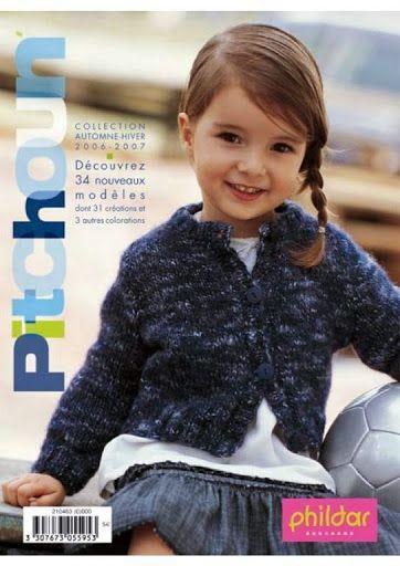 Tricotaje pentru fetite si baieti de la Phildar - Ligia Botezatu - Picasa Albums Web