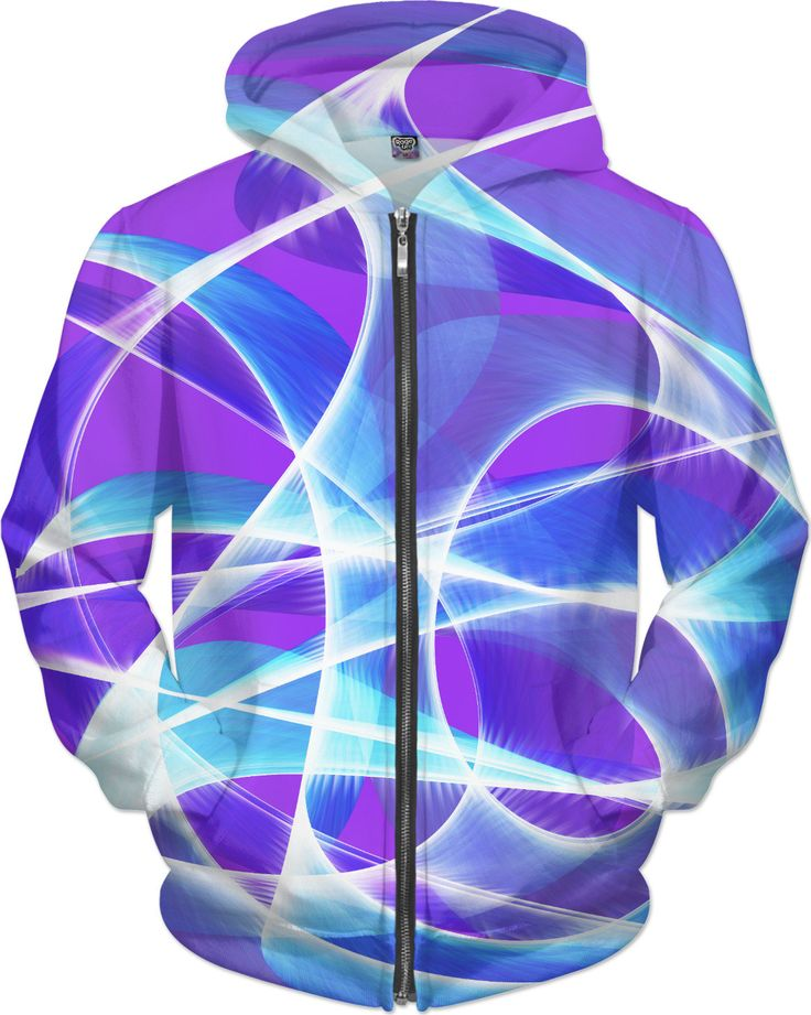 Waves Pink Hoodie by Terrella available at https://www.rageon.com/products/waves-pink-5?aff=BSDc on RageOn!