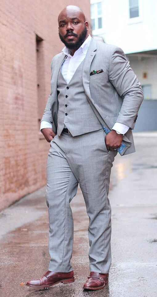 10 Top Fashion Tips From Stylish Plus-Size Guys