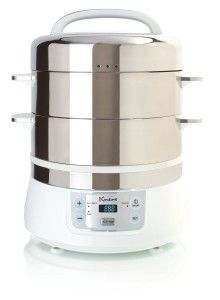 Euro Cuisine FS2500 Stainless Steel Electric Food #Steamer