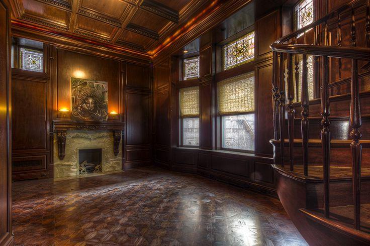 The Madison Mansion in Manhattan where Seb lives