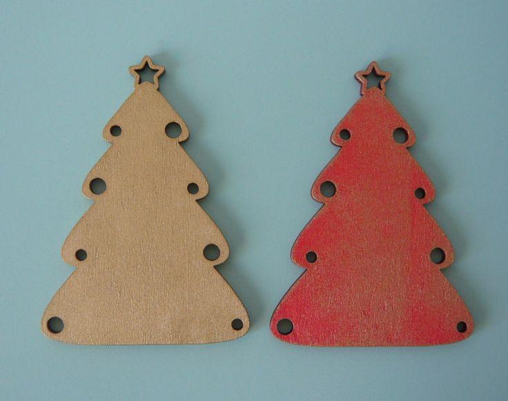Albero di natale sagoma natalizia da decorare di LikeCarmen
