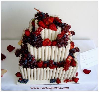 Maravillosa Torta Frutas Frescas