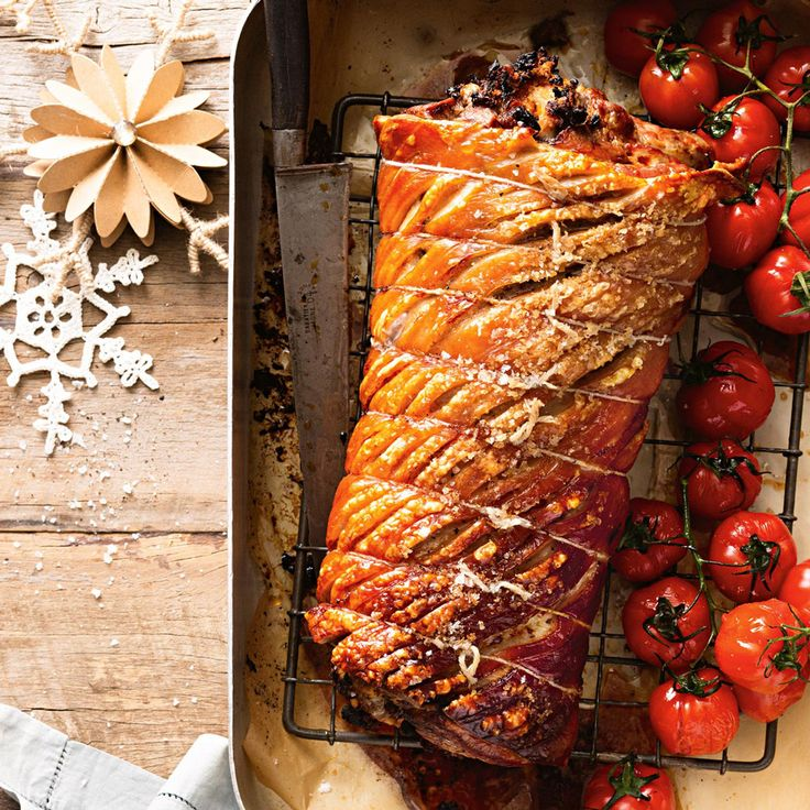 For the ultimate Roast Pork & Stuffing, follow these steps.