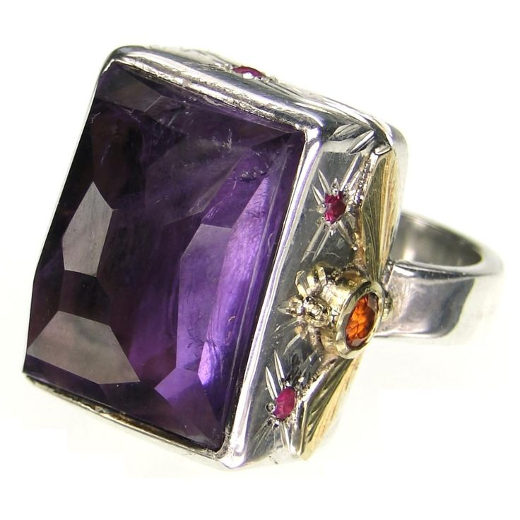 One-of-a-Kind Big and Juicy Amethyst Ring
