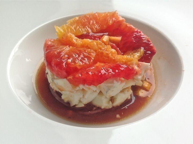 Hapje van bloedsinaasappel, feta en rode ui - Truitjeroermeniet.be