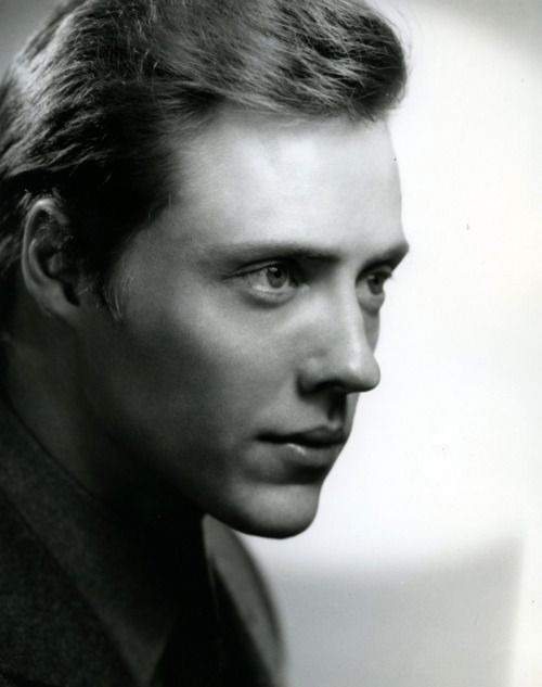 christopher walken, 1966. i wear my hair like this kind of now