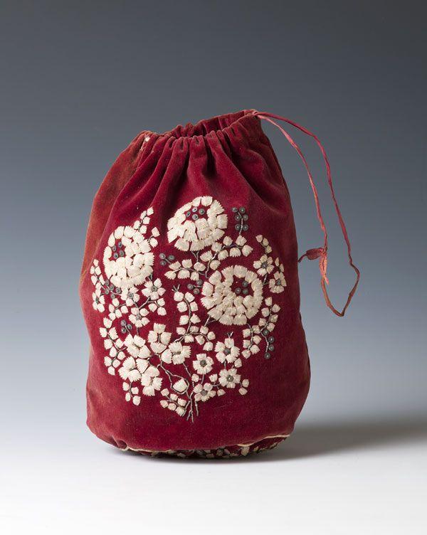 woreczek na robótki ręczne // bag for needlework