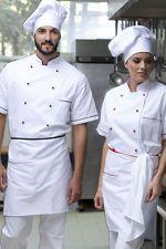 PAGAMENTO ANCHE ALLA CONSEGNA Giacca Uomo Donna Cuoco Chef da lavoro Ristorante Cucina Abbigliamento Abiti
